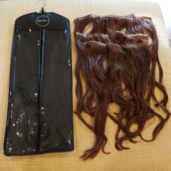 Bellami Accessories Clip In 220g 22inch Human Hair Extensions